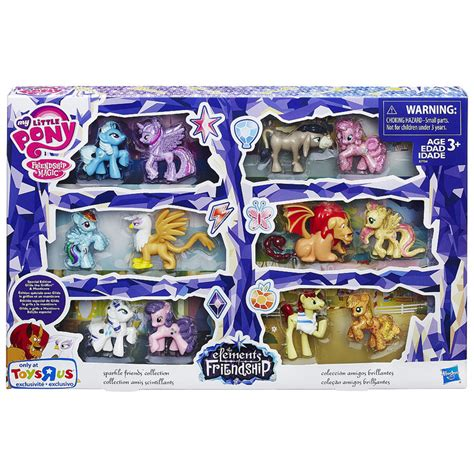 Mainan Mini Pony 1 Pcs Play Set Mainan Kuda Pony mlp twilight sparkle blind bags mlp merch