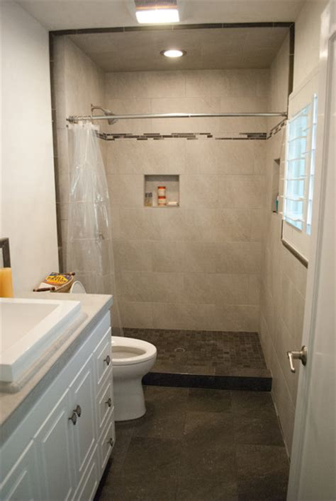 Bachelor Pad Bathroom bachelor pad bathroom tile installation modern