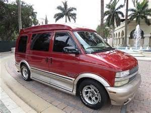 Chevrolet Astro Conversion For Sale Sell Used Florida Chevy Astro Explorer Limited Hi Top