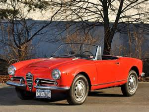 1965 Alfa Romeo Giulia Spider Alfa Romeo Giulia 1600 Spider Wallpapers Cool Cars Wallpaper