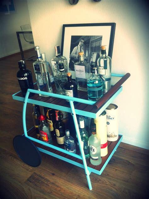 the cam3l bar ikea hackers ikea hackers ikea hack vindals 246 garden trolley dyi bar cart ready