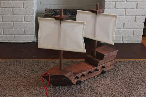 how to make a boat with waste material diy toy pirate ship diy arts and crafts