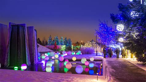 Blossoms Of Light Denver Botanic Gardens Christmas Botanic Gardens Lights