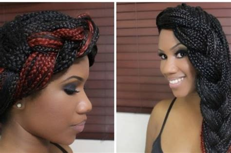 how to pack hair to different styles 21 awesome ways to style your box braids and locs