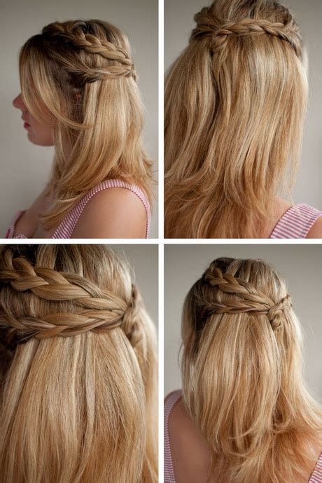 hairstyles half up half down with braids half up half down braided hairstyles