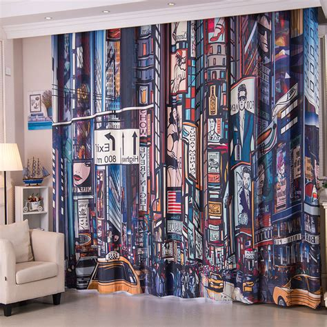 cool bedroom curtains colorful patterned cool curtains for boys bedroom