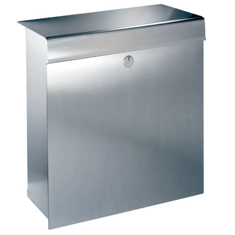 stainless steel mailbox knobloch la stainless steel mailbox prestige collection