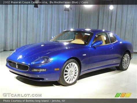 2002 maserati cambiocorsa mediterraneo blue 2002 maserati coupe cambiocorsa