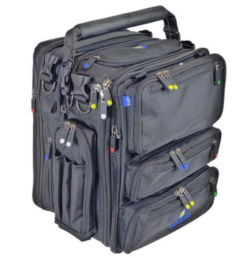 Travelbag Multy Black Blue Line Greenlight brightline bags b7 flight pilot bag