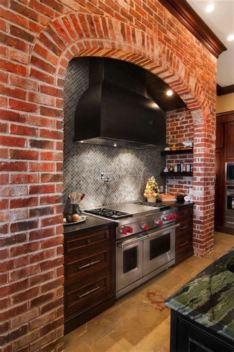 Antique Brick Kitchenclassic Kitchens With Traditional And | classic kitchen style traditional kitchen other