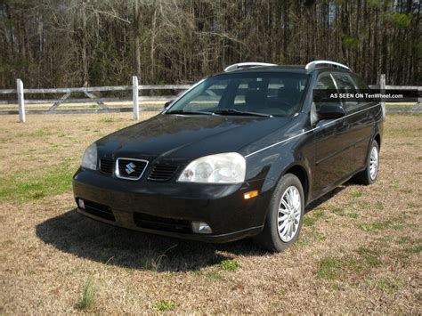 2005 black suzuki forenza wagon ex no mechanical problems
