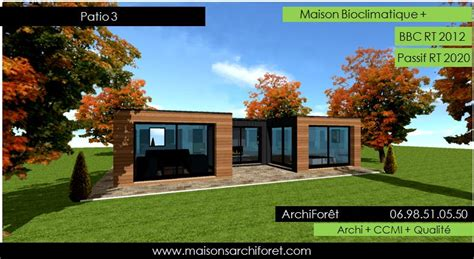 plan maison avec patio central patios maison avec patio par architecte constructeur