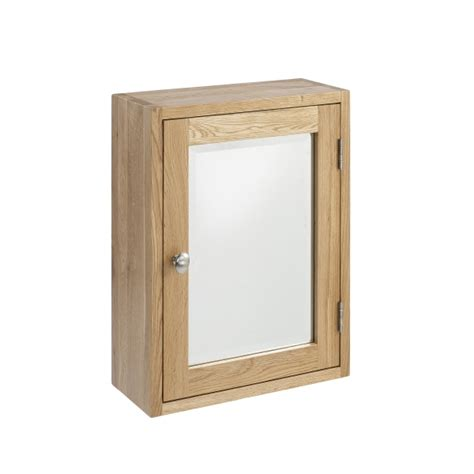 Small Wall Mounted Bathroom Cabinet by Asprey Solid Oak Furniture Small Glazed Wall Mounted