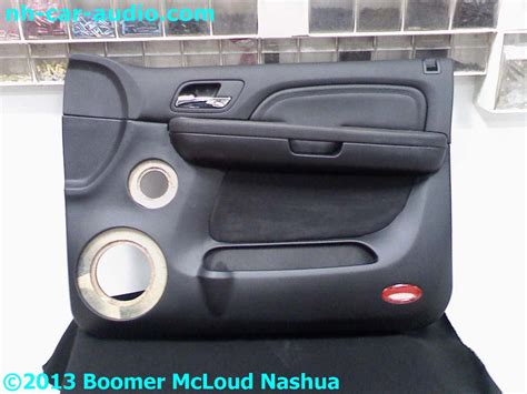 interior door panels for cars escalade interior door panel half wrapped leather custom boomer nashua mobile electronics