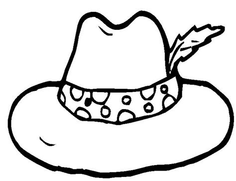hat coloring page hat coloring pages 7