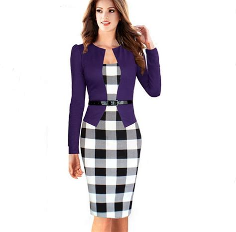 robe de bureau tartan pencil skirt reviews shopping tartan