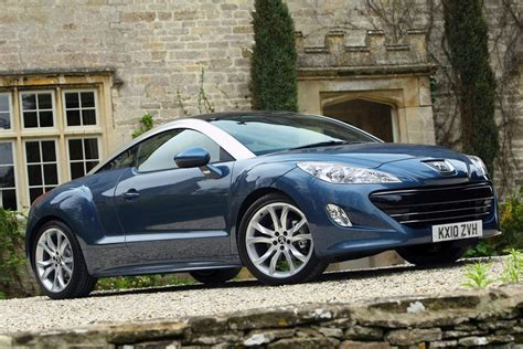 peugeot england peugeot rcz 2010 car review honest john