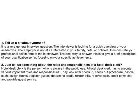 hotel interview questions military bralicious co