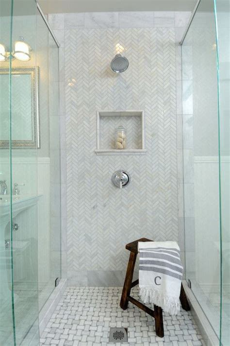 herringbone tiles bathroom hton style bathroom