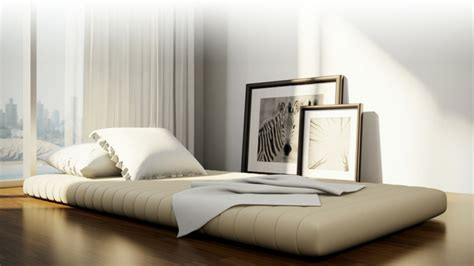 cama estilo japones camas japonesas para unos interiores modernos
