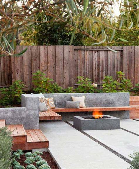 small concrete backyard ideas 23 small backyard ideas how to make them look spacious and