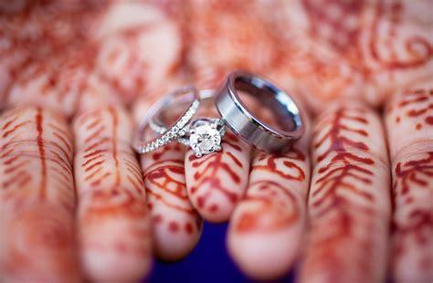 engagement ring indian henna onewed