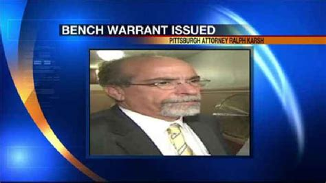 what happens if a bench warrant is issued bench warrant issued for attorney after failing one news