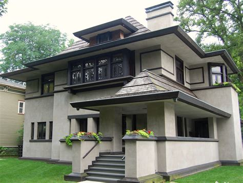 photos of houses a frank lloyd wright house in chicago s oak park jr p