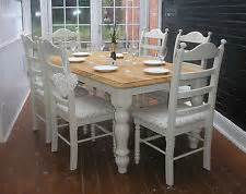 shabby chic dining table and chairs ebay