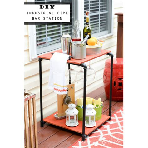 industrial diy projects industrial pipe home decor diy projects the cottage market