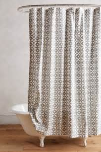 Shower Curtains The In Shower Curtain Trends