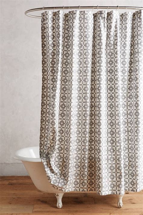 Curtains As Shower Curtains by The In Shower Curtain Trends
