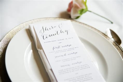 simple wedding reception menu ideas calligraphy wedding menu card simple wedding
