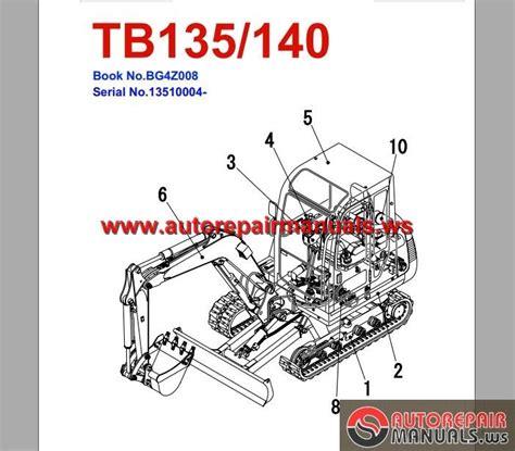 takeuchi tl140 parts diagram 855d parts diagram