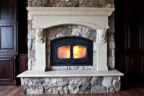 Cast Concrete Fireplace Surrounds by Custom Cast Concrete Fireplace Mantel Surrounds