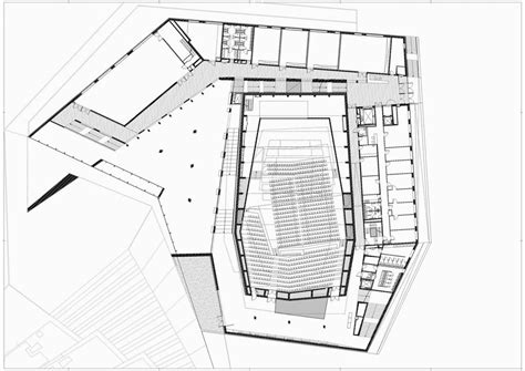 concert hall floor plan kodaly centre concert hall in pecs by 201 p 237 t 233 sz st 250 di 243