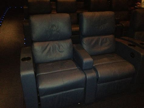 cinema with reclining seats theater 5 seating with extra large comfy reclining leg