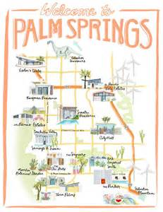 palm california map best 25 palm springs california ideas on palm