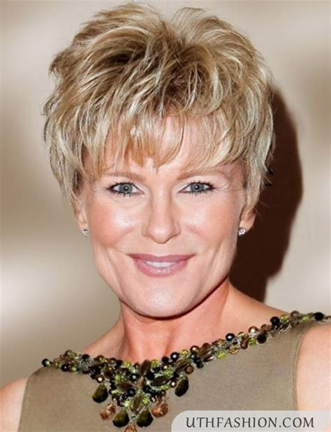 short hairstyles for 50 year old women with curly hair latest short hairstyles for women over 50