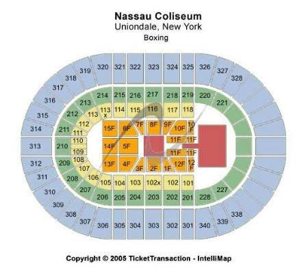 nassau coliseum floor plan nassau coliseum tickets and nassau coliseum seating chart