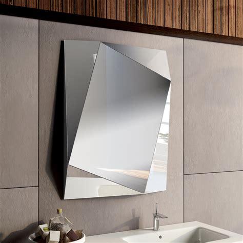 specchi da bagno design specchio rilegato da bagno design moderno h 90 x l 78 cm