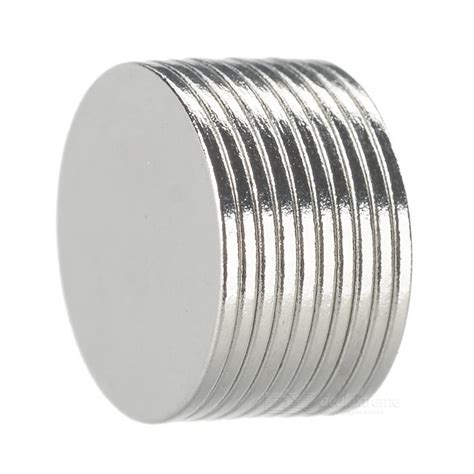 1 Pack Magnet Hitam 15 Mm strong earth re magnets 15mm x 1mm 10 pack free shipping dealextreme