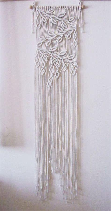 macrame pattern pinterest macrame wall hanging sprigs 2 handmade macrame home by