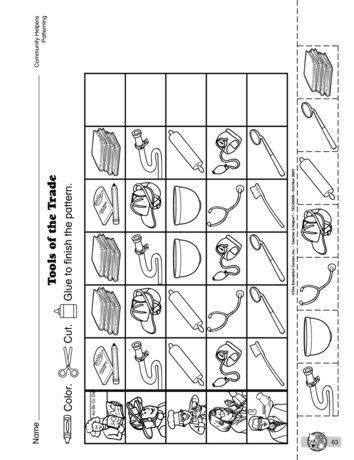 The Mailbox Math Worksheets by 70 Best Preschool Community Helpers Images On