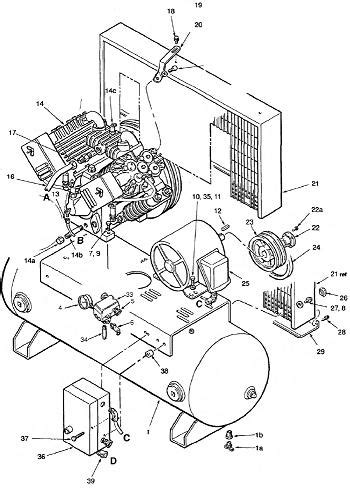 ingersoll rand compressor parts diagram automotive parts diagram images