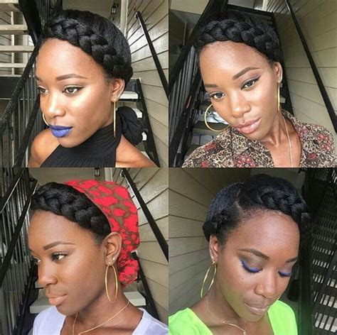 halo braids for black women on pinterest halo braid natural hair flip your hair enjoy life