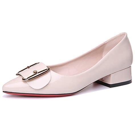 2017 Retro Style Handmade Shoes - get cheap chunky heels aliexpress alibaba