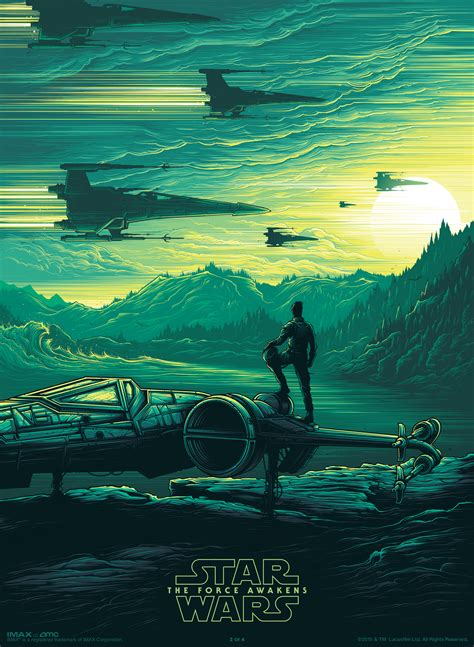 Star Giveaways - amc imax star wars the force awakens commemorative poster giveaways