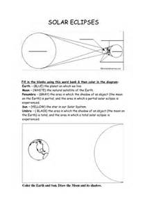 sun earth moon and solar eclipse resources by
