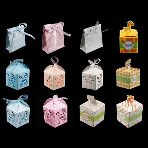 Baby Shower Bomboniere by Baby Shower Pattern Gift Bomboniere Boxes Wedding